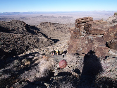 Whipple Mountain with the Trona Fire Pit Company  1.19.13