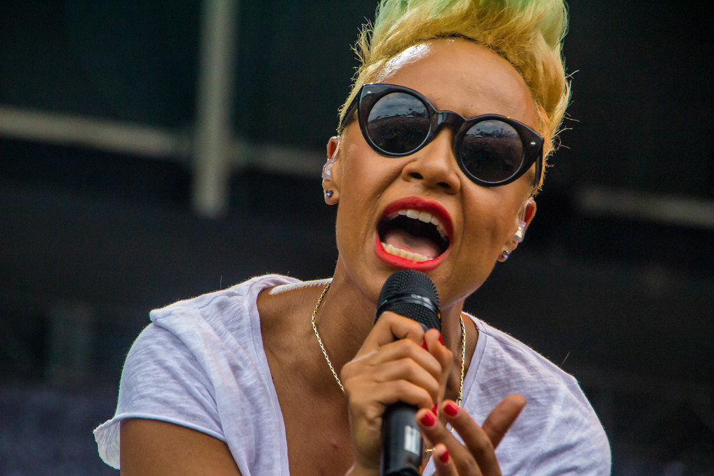 . Emeli Sande at Lollapalooza