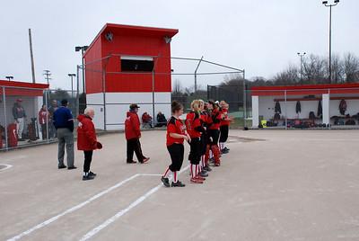 Girls Varsity Softball - 2008-2009 - 4/14/2009 Big Rapids DS