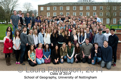 Class of 2014, School of Geography, University of Nottingham