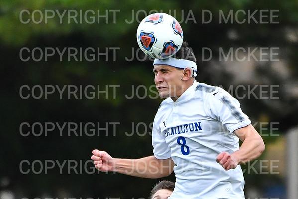 Hamilton Men's Soccer v Utica 10-2-19