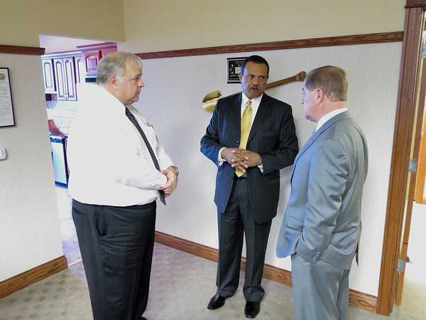 Ameren IL Pres CEO Richard Mark visits PPI