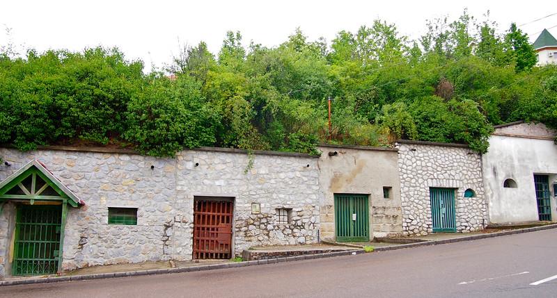 Wine cellars in Eger, Hungary