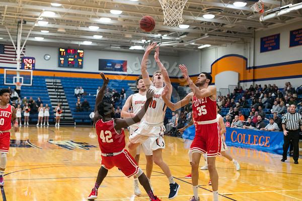 Wheaton College Men's Basketball vs Olivet Nazarene, December 8, 2018