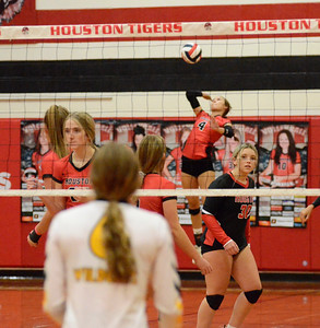 HHS volleyball vs. Cuba