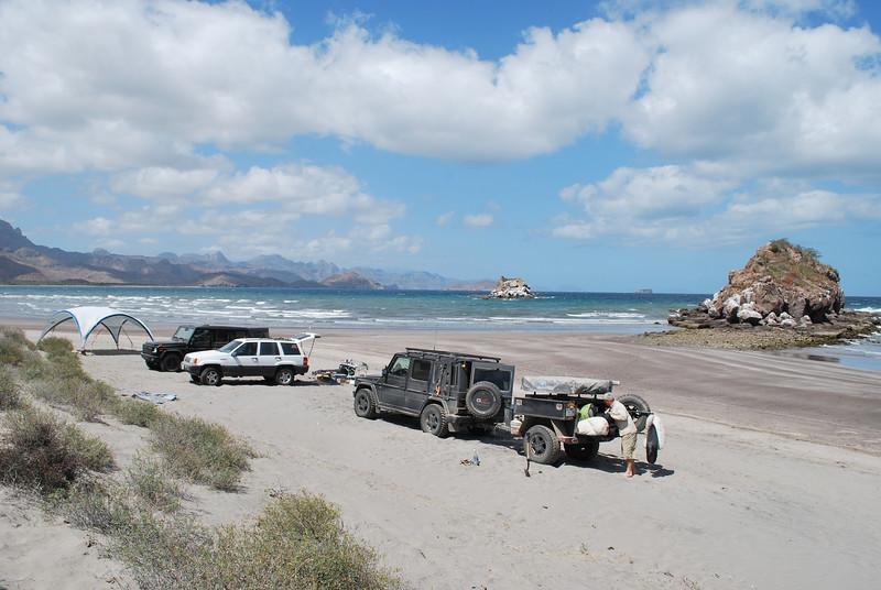 Aguja beach