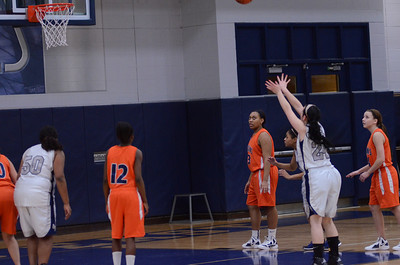 Oswego East Vs Romeoville girls soph basketball 2012