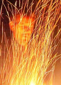 Justins Bonfire 11-3-2012