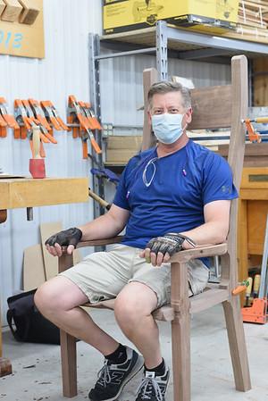 Sculptural Rocking Chair with Marc Adams