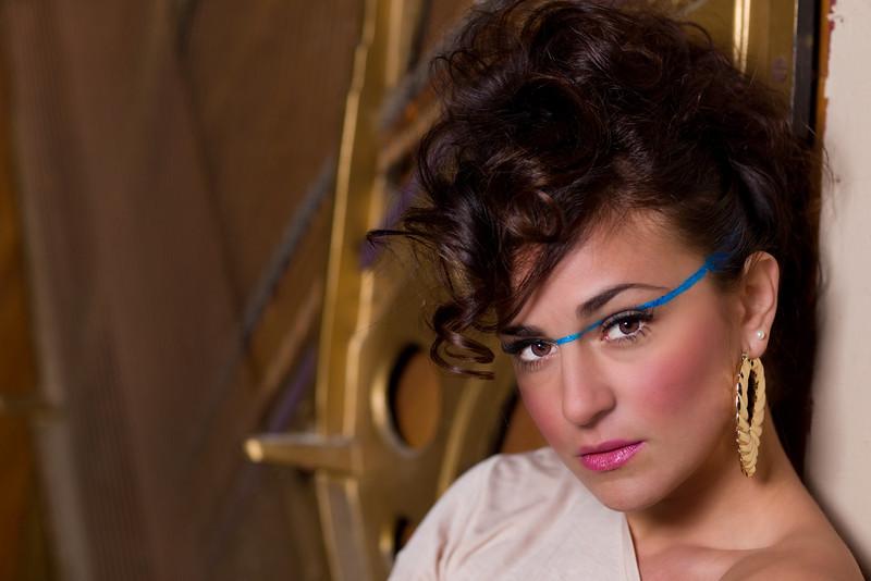Model: De'Lina Dauti MUA: Amanda Pepin Hair: Abbey Casorio