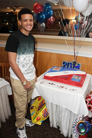 MAY 31ST, 2014: AJ'S GRADUATION PARTY