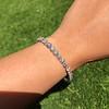 9.50ctw Round Brilliant Diamond Tennis Bracelet 37