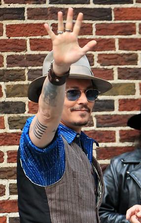 2011-10-26 - Johnny Depp
