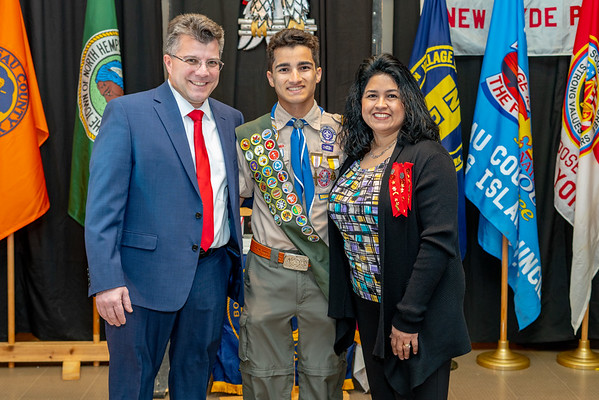 Michael Castelli's Eagle Scout Court of Honor