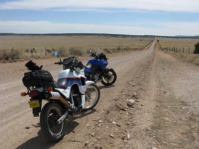 Bingham-Los Quebradas AT Ride  3-13-08