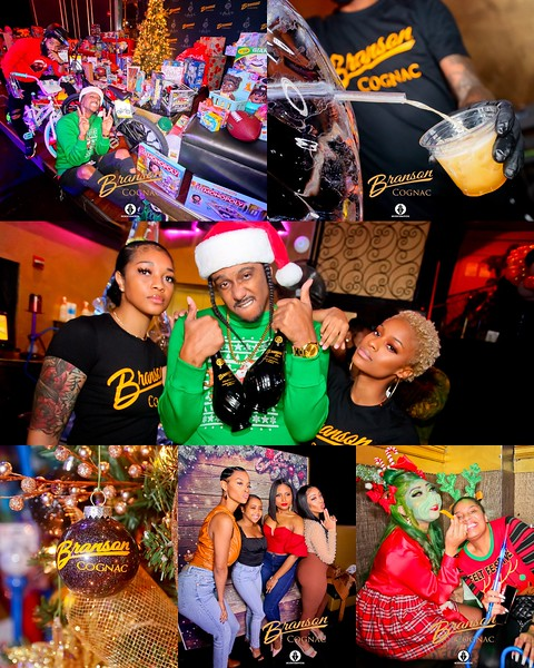 "DJ Era's 3rd Annual ""Drinks For A Claus"" Toy Drive Sponsored by Branson Cognac"
