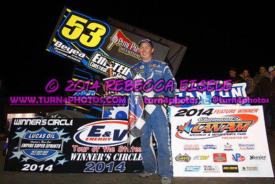 04/25/14 Can Am Feature Winners