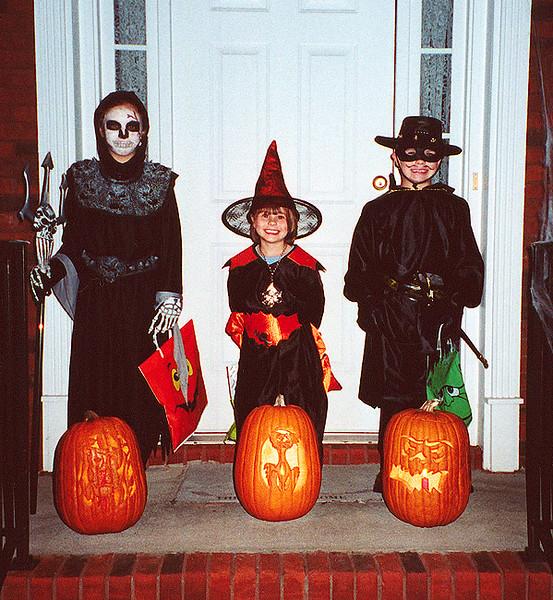 Halloween 2002 in Snellville, Georgia