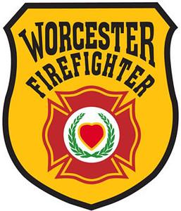 Worcester fire department logo