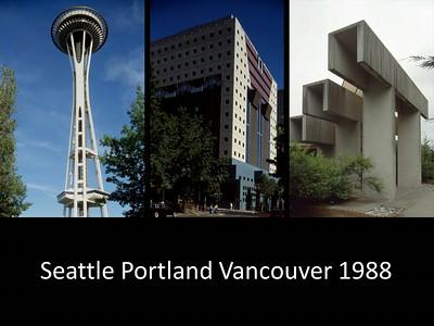 1988 Seattle Portland Vancouver