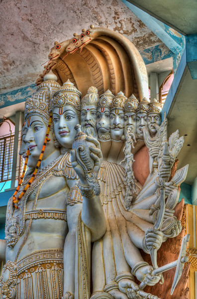 8 of the 12 incarnations of Vishnu