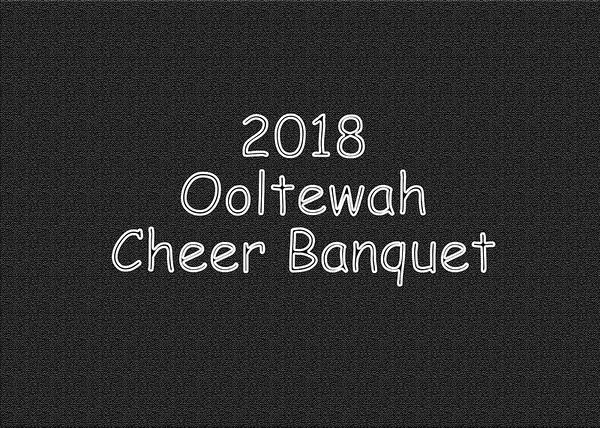 2018 Ooltewah Cheer Banquet DVD