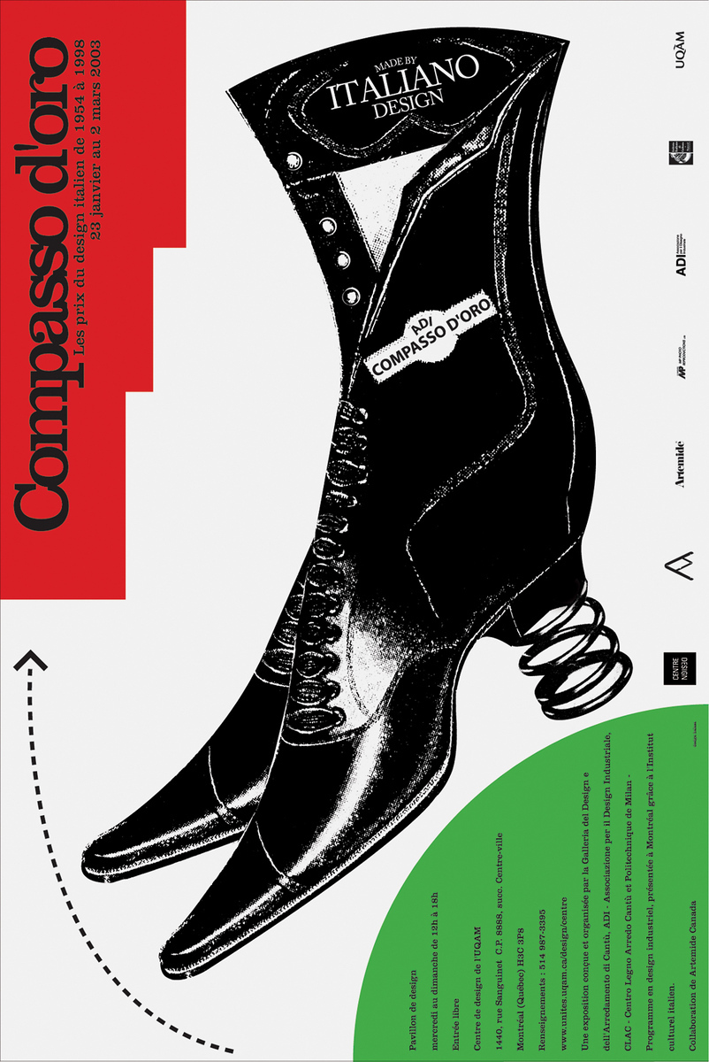 2003 - Exposition - Compasso d'oro les prix du design italien de 1954 à 1998 ©Alfred Halasa