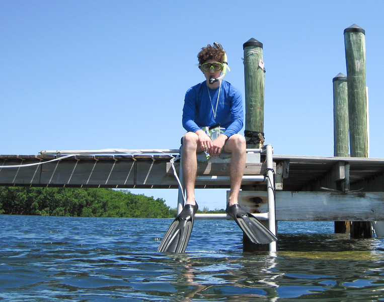 snorkeling at grassy key-13