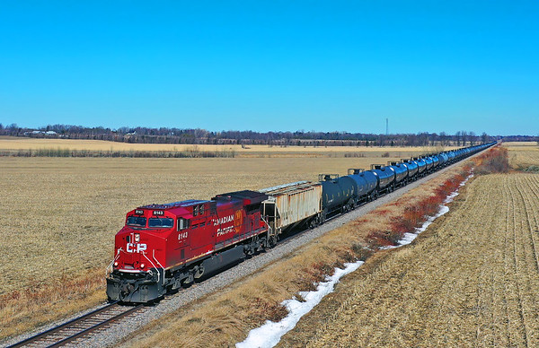 Canadian Pacific 650, Lacolle, Quebec, March 22 2020.
