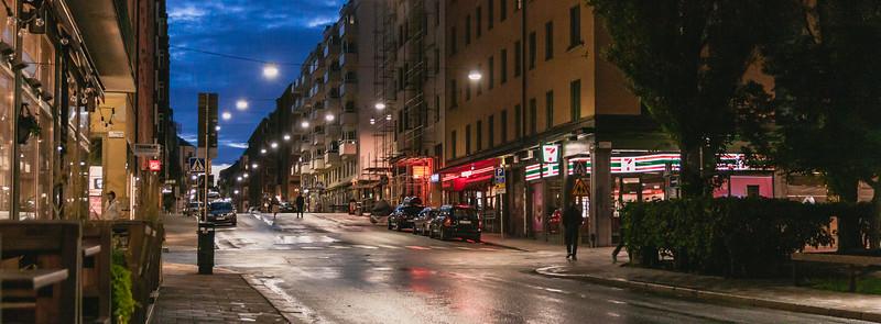 Medianoche en Estocolmo