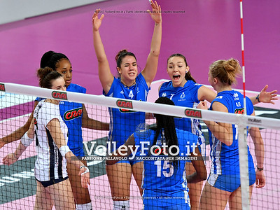 «Club Italia Crai - Volley Soverato» 9ª giornata