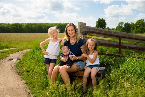 Rebecca K Family