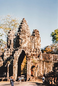 Angkor Thom, Terraces and Baphuon