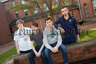 Luke Patterson, Oisin Brennan, Niall Conway and Anthony Donnelly. R1535007