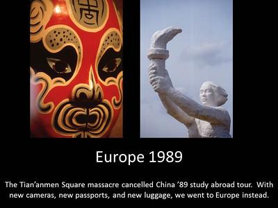 1989 Europe