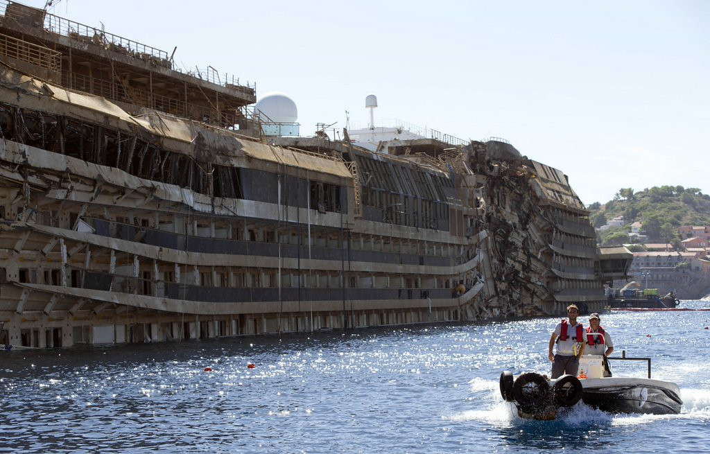 ". 9. COSTA CONCORDIA <p>Grounded cruise ship floating again, still looks better than some of Carnival�s boats. (unranked) </p><p><b><a href=""http://www.cnn.com/2014/07/14/world/europe/costa-concordia-salvage/\"" target=\""_blank\""> LINK </a></b> </p><p>    (AP Photo/Andrew Medichini)</p>"