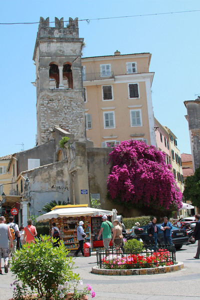 Downtown Corfu.