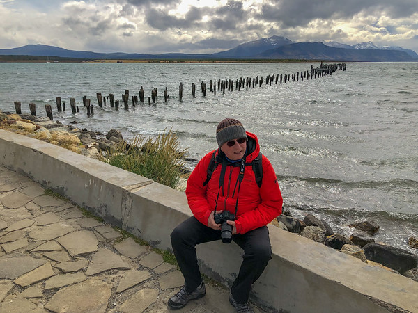 Puerto Natales a city in Chilean Patagonia, Chile - January, 2019