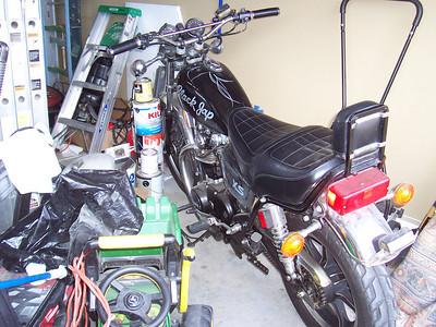 1980 Yamaha XS650 Black Jap