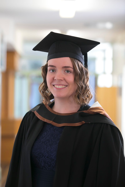 01/11/2018. Waterford Institute of Technology (WIT) Conferring Ceremonies 2018. Pictured is Daisy Wiggin, Clonmel. Picture: Patrick Browne