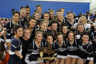 RHS Cheerleading - State Champions 2012