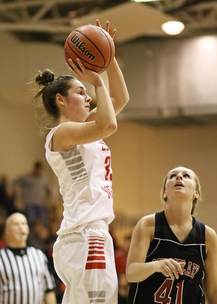 SNHS Girls Basketball vs Rensselaer 2014