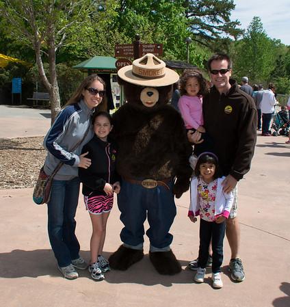 NC Zoo with Harrells