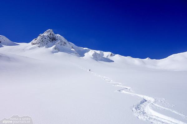 Schochen ski tour, Allgäu 2015-04-07