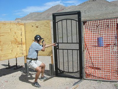 WNPL pistol match Aug. 2012