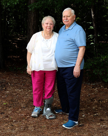 Mr and Mrs Harrell 60 years