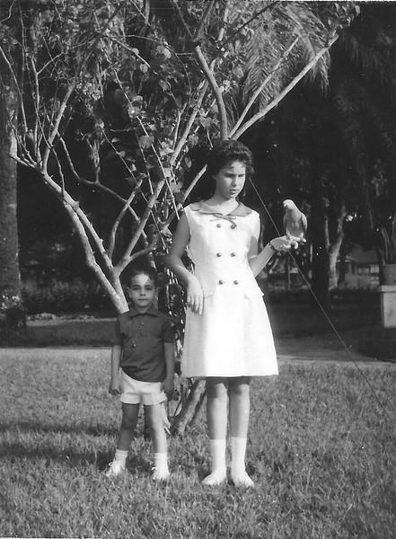 Rosa Lopes e filho do Vital