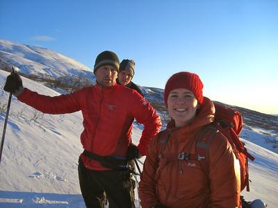 Gönguskíðaferð um Gullkistu 21.-22. jan 2012