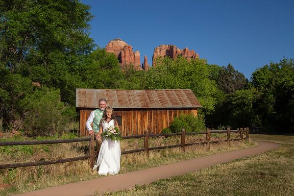 Allison & Dan's Sedona Wedding
