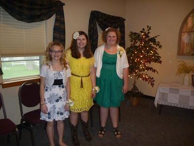 2013 Rebekah's 8th Grade Graduation by SJC